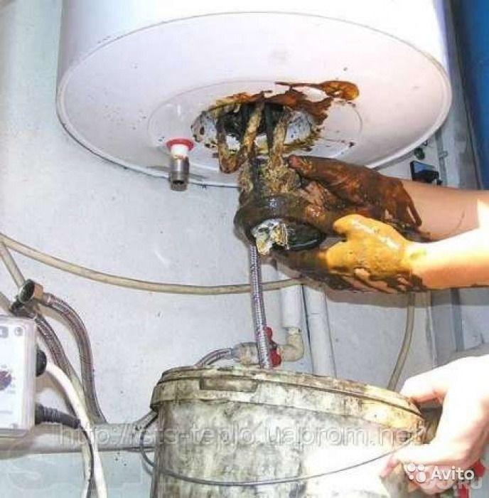Почистить водонагреватель своими руками
