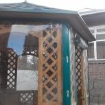 Прозрачные шторы для беседок и веранд, Краснодар
