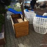 Ограждение пригрузов зонтов на боковой опоре, Краснодар