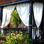 Защитные шторы для террасы Оксфорд, Краснодар