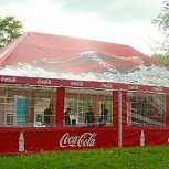 Каркасно-тентовые конструкции для летних кафе, Краснодар
