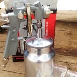 Краскораспылитель Matrix, 1 литр, 1,2-1,8 мм, Краснодар