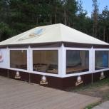 Павильон для кафе тентовый, Краснодар