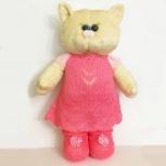 Мягкая игрушка кошка в платье, Краснодар