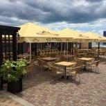 Зонт для пляжного кафе, Краснодар