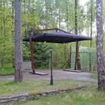 Зонт на двойной опоре 5 х 5 м., Краснодар
