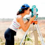 Видео-курс по геодезии. Работа с тахеометром, Краснодар