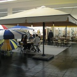Зонт для кафе 4х4 м, Краснодар