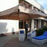Зонт с боковой  стойкой 3,5х3,5 м., Краснодар