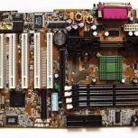 Материнская плата Asus p3b-f + процессор, Краснодар