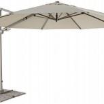 Зонт для кафе 3,7 м. на боковой стойке, Краснодар