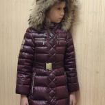 Продаю тёплую куртку-пуховик для девочки б/у, Краснодар