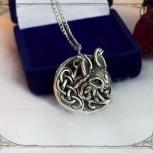 Женская подвеска рысь ювелирное украшение, Краснодар