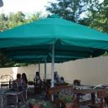 Зонт для уличного кафе, Краснодар