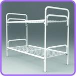 Кровати металлические  двухъярусные для рабочих, кровати Железные, Краснодар