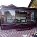 Прозрачные шторы для террасы, Краснодар
