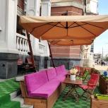 Зонт на боковой стойке 3х3 м. (металлический), Краснодар
