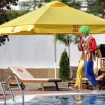 Зонты для кафе, торговые, пляжные, дачные в ассортименте, Краснодар