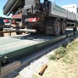 Автомобильные весы для статического взвешивания 80 тонн, Краснодар