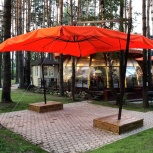 Зонт на двойной опоре 6 х 6 м., Краснодар