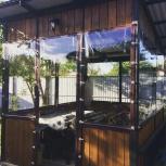 Прозрачные шторы для веранды, Краснодар