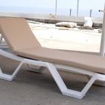 Лежак  пляжный пластиковый от 50 шт., Краснодар