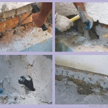 Ремонт трещин фундамента, стен инъекционный, Краснодар