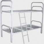 Металлические кровати двухъярусные для детей с лестницами, Краснодар