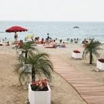 Дорожка для пляжа деревянная 5х1, Краснодар