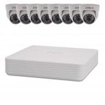 Комплект видеонаблюдения 8 внутренних камер 2 Мп, Краснодар