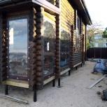 Прозрачные шторы ПВХ для беседки, веранды, Краснодар