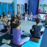 Медитация - йога 2, 4, 9 апреля 2019 с 20 до 23; 6 апреля с 12 до 15, Краснодар