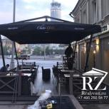 Зонт на двойной опоре 5,5 х 5,5 м., Краснодар
