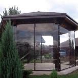 Прозрачные шторы для дачи, Краснодар