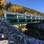 Быстровозводимый автотранспортный мост из сварных балок., Краснодар