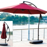 Садовый зонт 3 метра бордовый, Краснодар