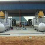 Пиролизные установки переработки отходов, загрузка 6 т. (10 т. в день), Краснодар